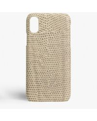 The Case Factory Iphone X Varan Shell - Natural
