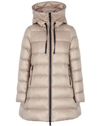 2b9c1064f Suyen Stone Quilted Shell Coat - Natural