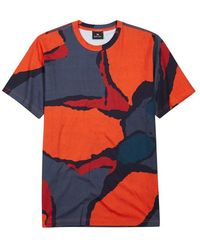 PS by Paul Smith - Printed Cotton T-shirt - Lyst