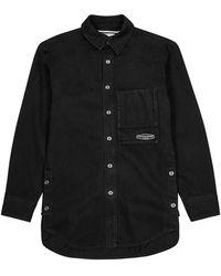 Wooyoungmi Black Denim Overshirt