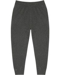 Extreme Cashmere N°56 Yogi Gray Cashmere-blend Sweatpants