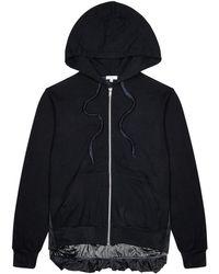 CLU - Midnight Blue Shell And Jersey Sweatshirt - Lyst