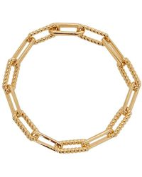 Missoma - Coterie 18kt Gold-plated Chain Bracelet - Lyst