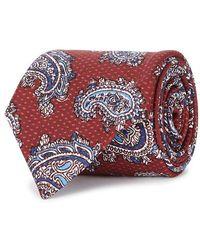 Corneliani - Paisley-print Silk Tie - Lyst