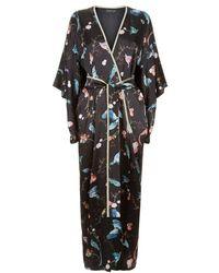 Meng - Silk Satin Kimono - Lyst