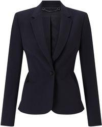 Jigsaw Seam Detail Paris Jacket - Blue