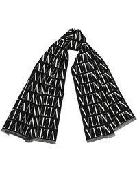 Valentino Garavani - Garavani Vltn Wool-blend Scarf - Lyst