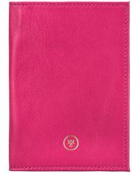 Maxwell Scott Bags Hot Pink (nappa) Women's Purse Wallet In Pink