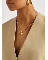 Alighieri The Minerva 24kt Gold-plated Necklace - Metallic