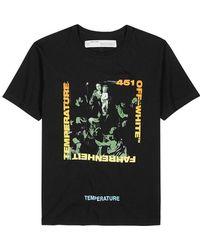 Off-White c/o Virgil Abloh - Caravaggio-print Cotton T-shirt - Lyst