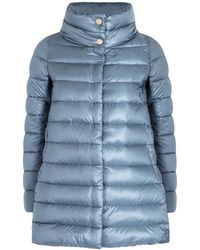 Herno Icon Light Blue Shell Coat