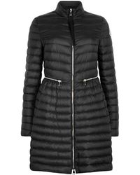 Moncler - Agatelon Quilted Shell Coat - Lyst