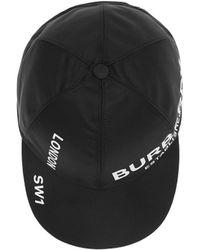 Burberry Logo Horseferry Print Baseball Cap - Black