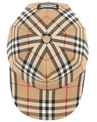 Burberry Vintage Check Cap - Multicolour