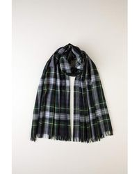 Johnstons - Dress Gordon Tartan Merino Scarf - Lyst