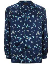 Meng - Silk Satin Shirt - Lyst