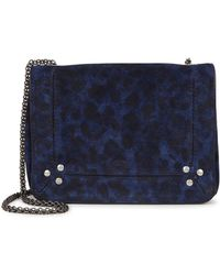 Jérôme Dreyfuss - Eliot Leopard-print Suede Cross-body Bag - Lyst