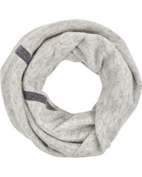 Duffy - Grey Wool And Cashmere Blend Snood - Lyst