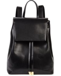 Gvyn - Cole 2.0 Black Leather Backpack - Lyst