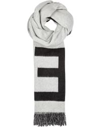 Etudes Studio - Magnolia Jacquard Wool Blend Scarf - Lyst