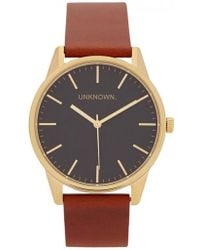 Unknown - The Classic Gold Tone Watch - Lyst