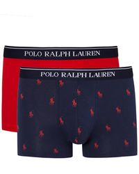 Pink Pony - Stretch Cotton Boxer Briefs - Set Of Two - Lyst