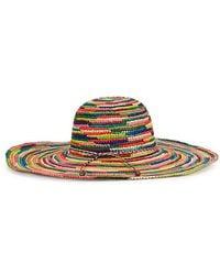Sensi Studio - Mulitcoloured Straw Hat - Lyst
