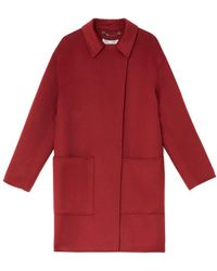 Jigsaw Litton Double Face Coat - Red