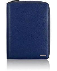 Tumi Family Passport Case - Blue