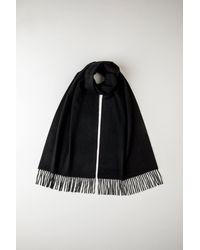 ff2c276ab3 Black Oversized Classic Cashmere Scarf