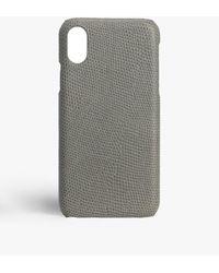 The Case Factory Iphone Xr Lizard Grey - Gray