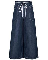 Rejina Pyo - Jodie Indigo Wide-leg Jeans - Lyst