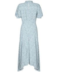 Ghost - Jenna Dress Scarlett Floral - Lyst