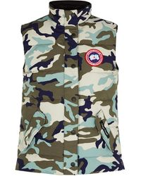 Canada Goose Freestyle Camouflage Arctic-tech Shell Gilet - Multicolour