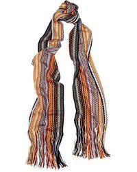 Missoni Striped Wool-blend Scarf - Multicolour