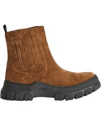 Weekend by Maxmara Suede Ankle Boots - Brown