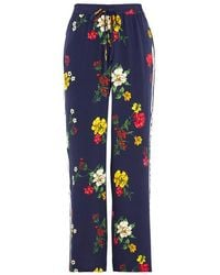 Joie - Awen Floral-print Silk Jogging Trousers - Lyst