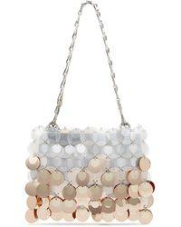 Paco Rabanne - Sparkle Embellished Shoulder Bag - Lyst