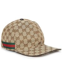 Gucci Gg Canvas Cap - Natural