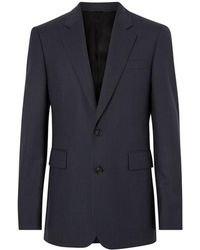 Burberry - Classic Fit Pinstripe Wool Tailored Jacket - Lyst