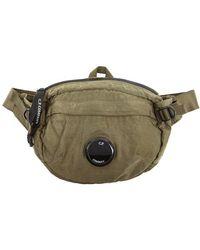 C P Company Olive Shell Belt Bag - Green