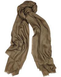 Denis Colomb Toosh Lisse Fine-knit Cashmere Scarf - Multicolour
