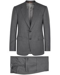 Cifonelli - Monte Carlo Grey Wool Suit - Lyst