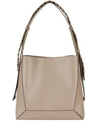 Stella McCartney Medium Taupe Hobo Bag - Brown