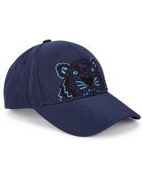 KENZO - Tiger-embroidered Canvas Twill Cap - Lyst
