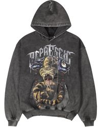 Represent As Good As Dead Printed Cotton Sweatshirt - Grey