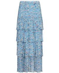 Ghost Jane Skirt Daisy Meadow Print - Blue
