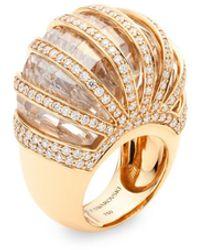 Atelier Swarovski Duchesse Ring 18k Yellow Gold - Metallic
