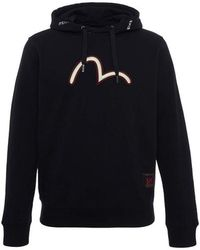 Evisu - 3d Seagull Embroidered Hoodie - Lyst