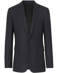 Burberry - Slim Fit Birdseye Wool Suit - Lyst
